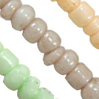 Opaque Dyed Glass Seed Beads