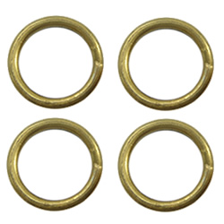 Brass Soldered Jump Ring