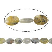 Natural Bamboo Agate Beads
