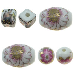 Printing Porcelain Beads