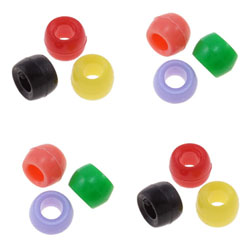 Candy Style Acrylic Beads
