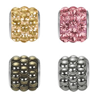 CRYSTALLIZED™ Elements #80601 BeCharmed Pavé Barrel Crystal Beads