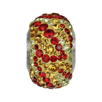 CRYSTALLIZED™ Elements #82043 BeCharmed Pavé Fire Crystal Beads