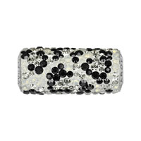 CRYSTALLIZED™ Elements #81974 BeCharmed Pavé Leopard Crystal Beads